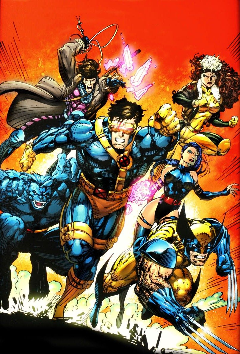 Cassic 90 S X Men Art By Jim Lee Marvel Comics Marvel Comics Art Jim Lee X Men