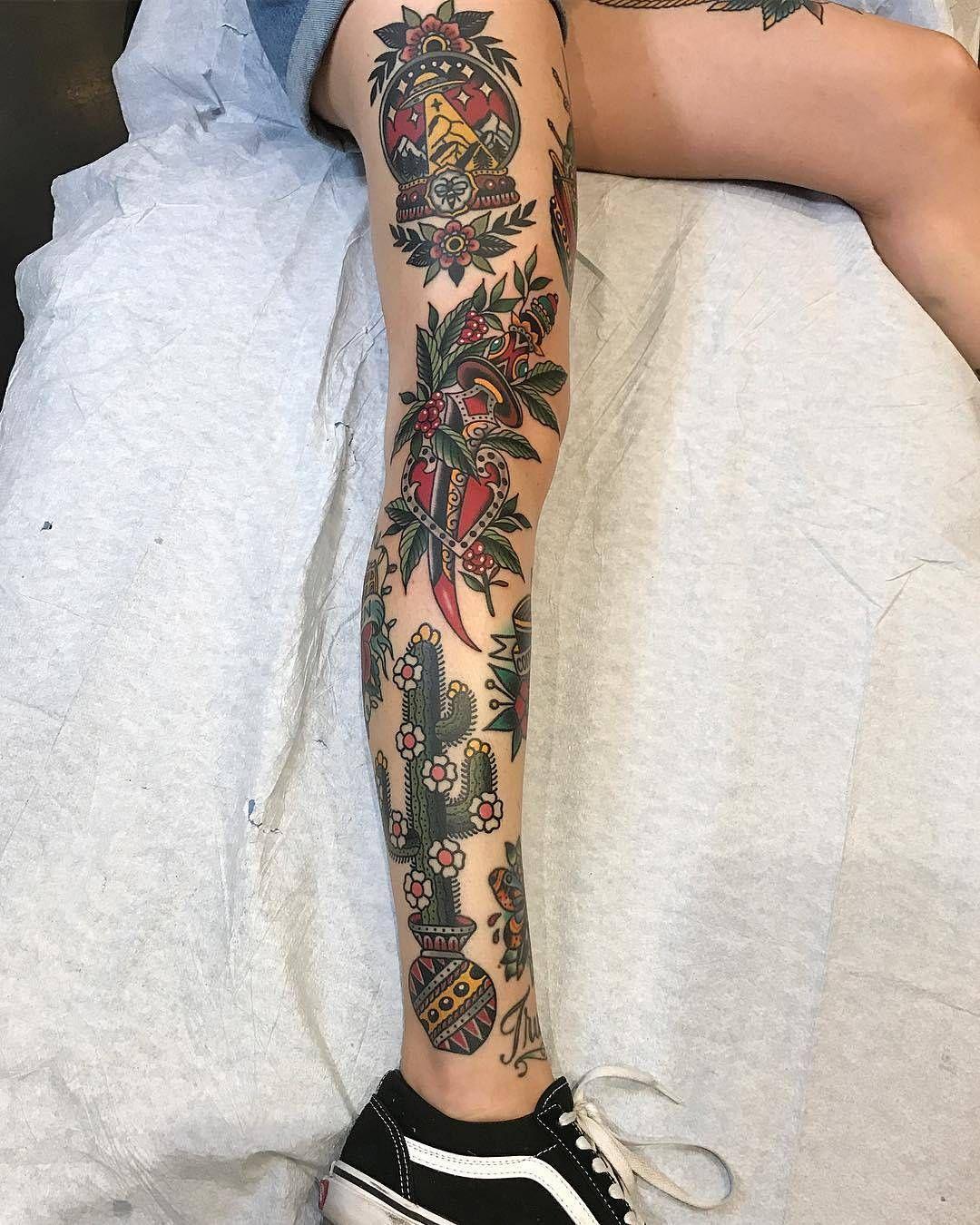 """Traditional Tattoo on Instagram: """"#tattoo by @mattxcannon ... ... ... #traditional #traditionaltattoo #traditionalartist #oldtattoo #oldschooltattoo #tattooartist #tattooart…"""""""