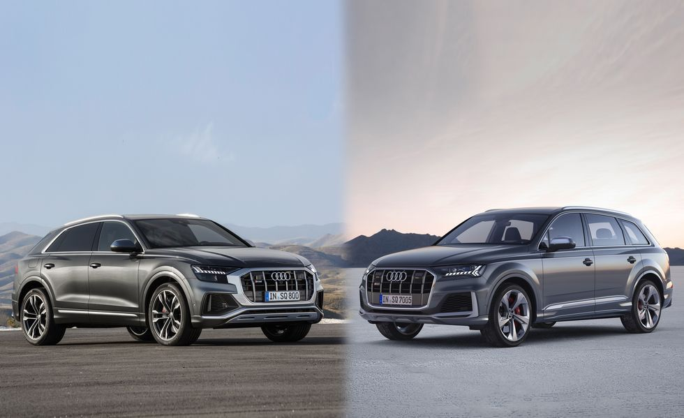 2020 Audi Sq7 And Sq8 Coming To U S With 500 Hp V 8 Audi Car Vehicles