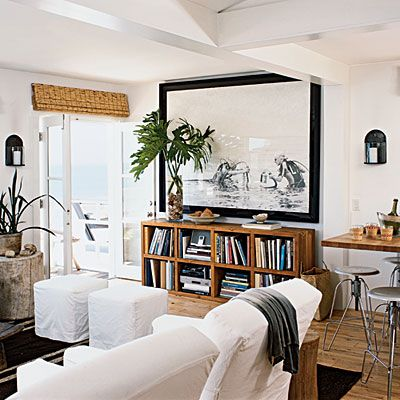 20 Amazing Living Room Makeovers   Sofa tables, Dining area and ...