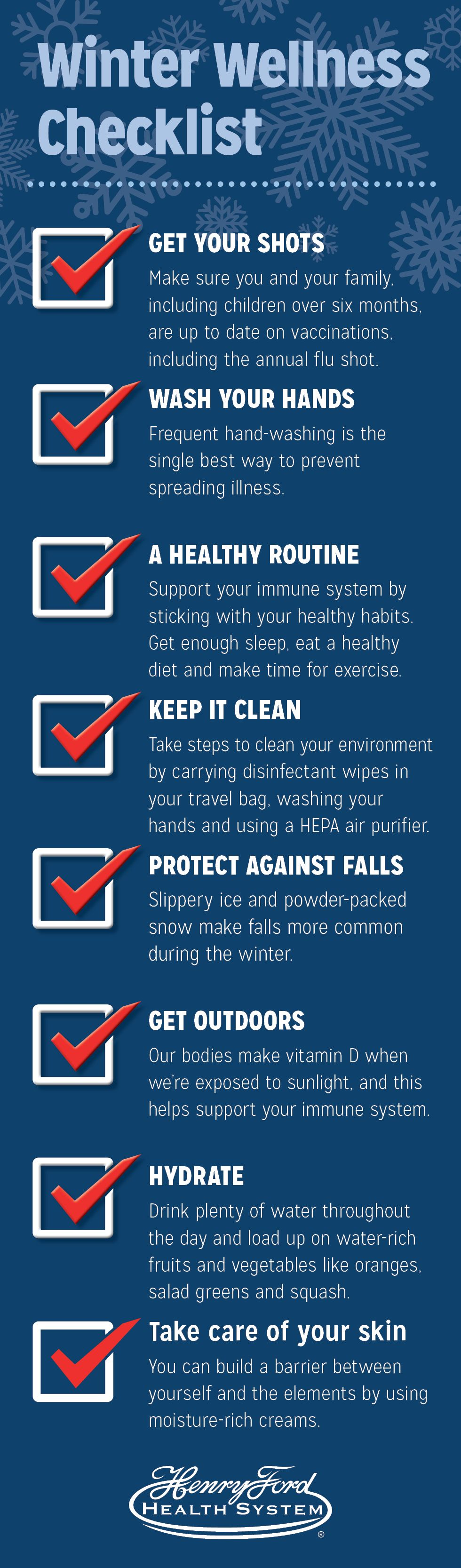 advice to stay healthy winter wellness checklist winter may be a