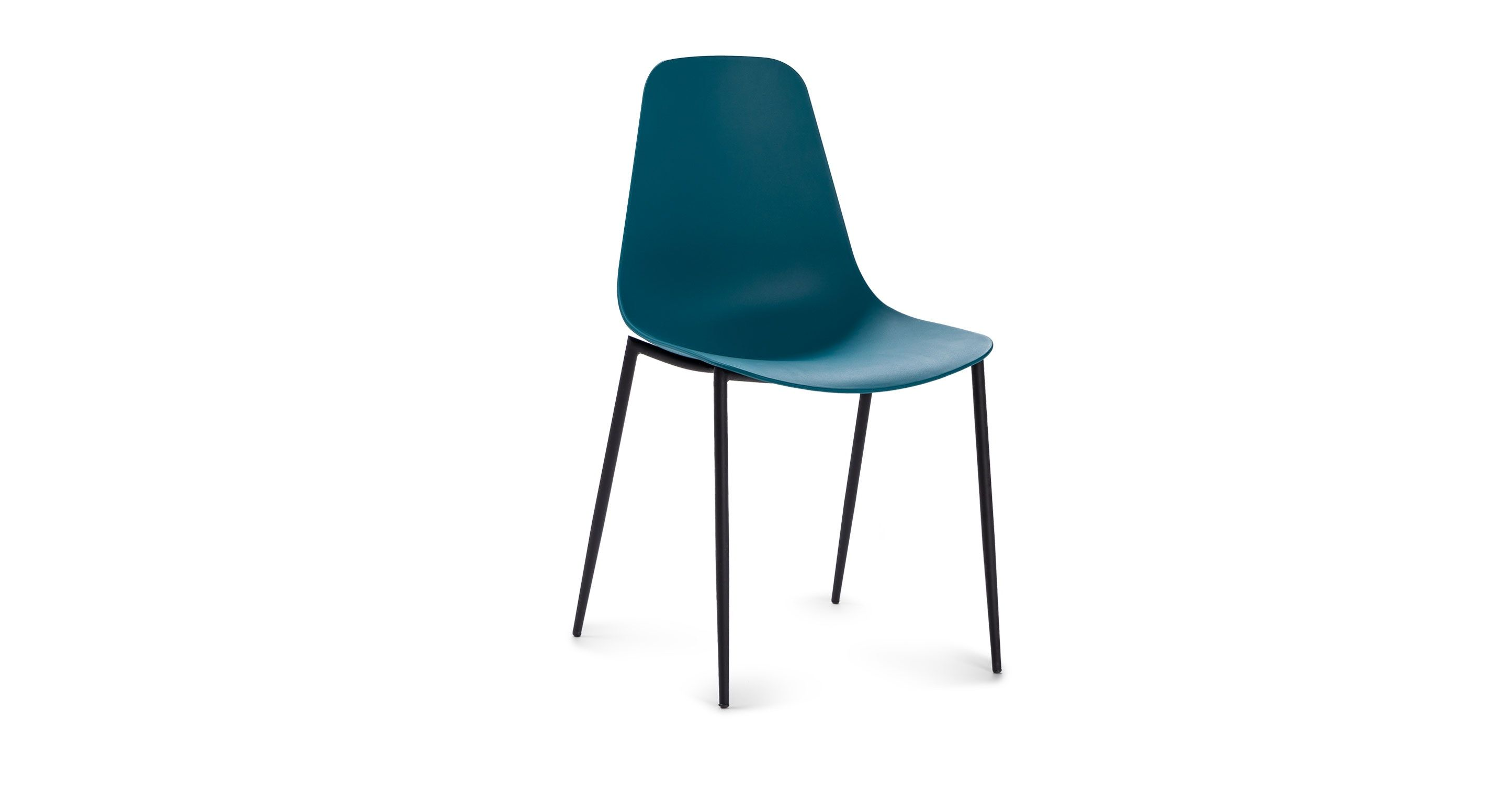 Teal Dining Chair - Article Svelti Modern Furniture