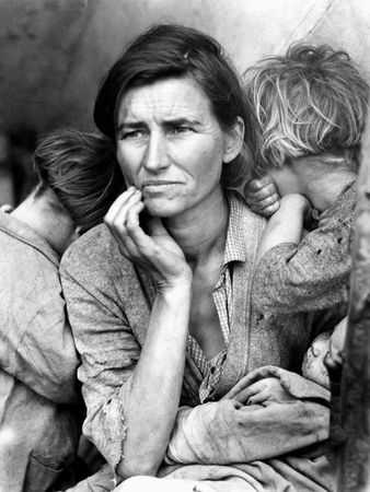 Migrant Mother, 1936. Photographic Print at AllPosters.com