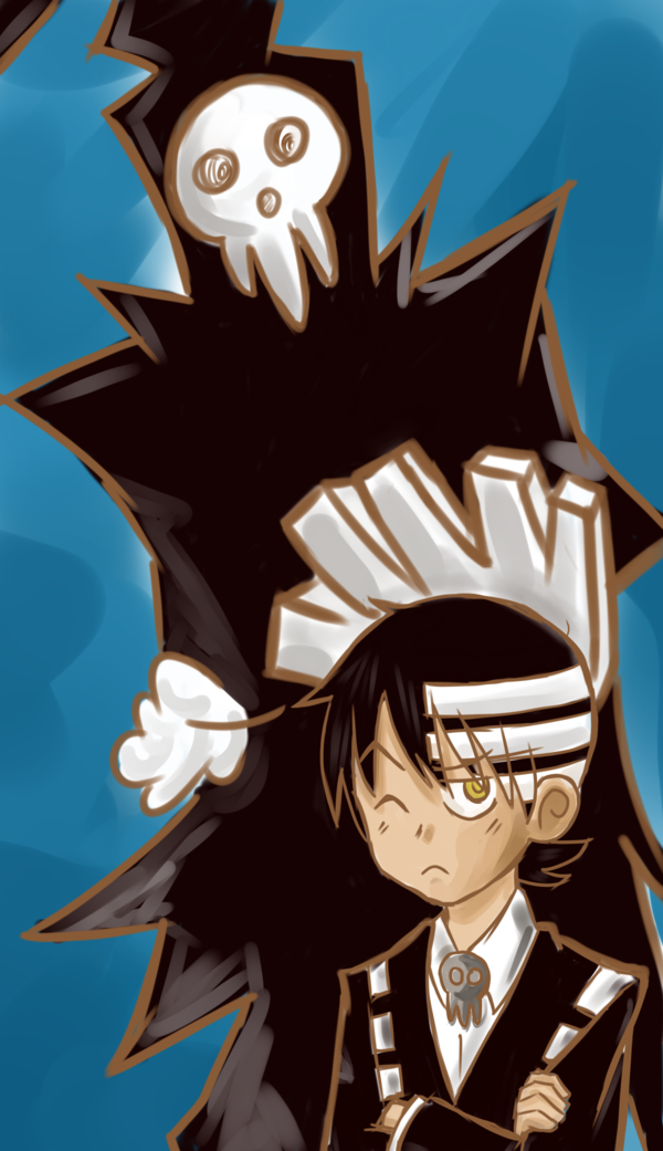 Pin By Ming Chin Oi On Soul Erter Soul Eater Kid Soul Eater Death Death The Kid