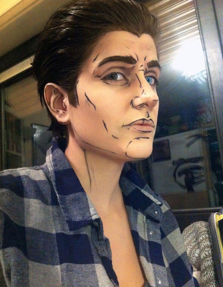 Rhys makeup plan | borderlands cosplay, cosplay tumblr, cosplay.