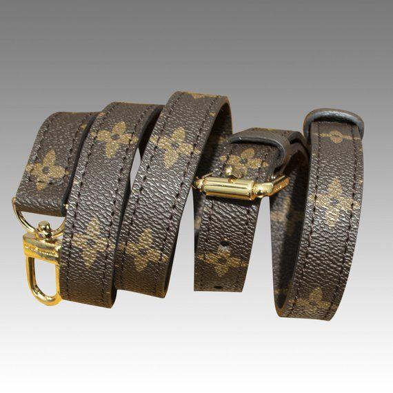6002e19b72f6 adjustable Monogram shoulder / crossbody Strap for Small Bags ...