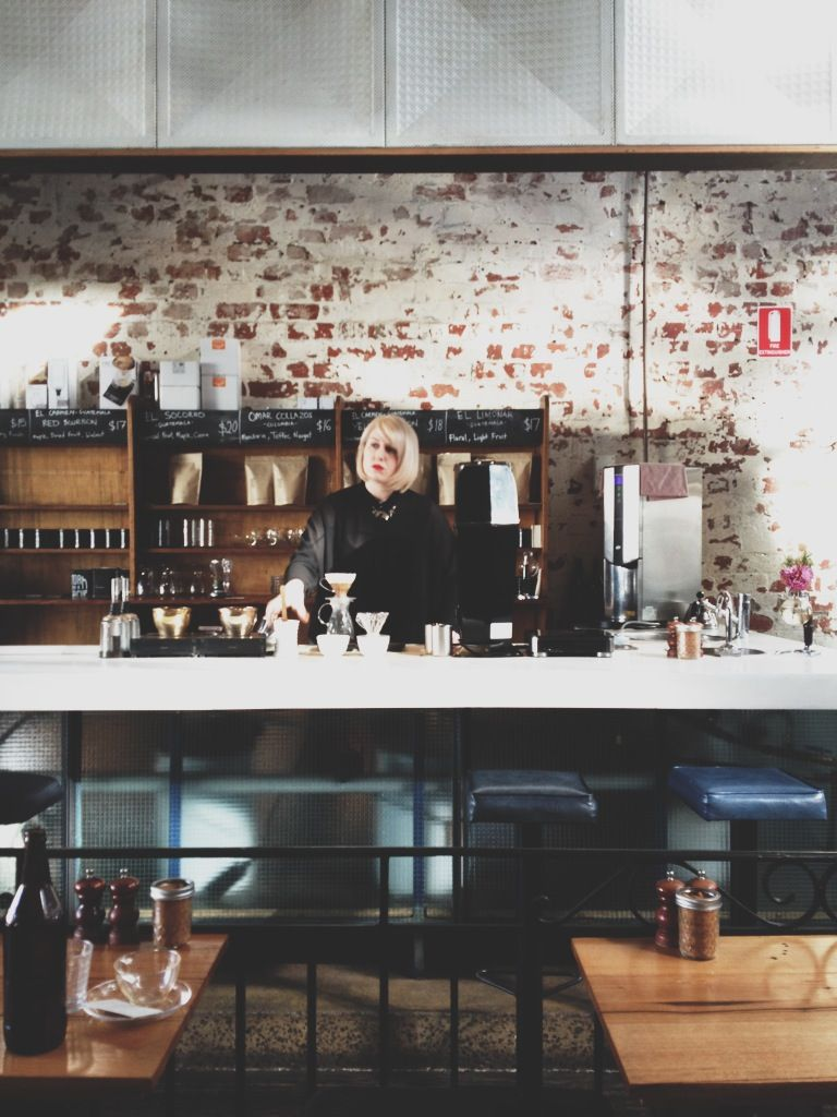 barista amy malone  auction rooms cafe  north melbourne