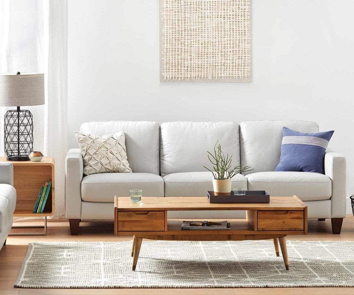 Pavel Leather Sofa Living Room Furniture Sale Furniture Living