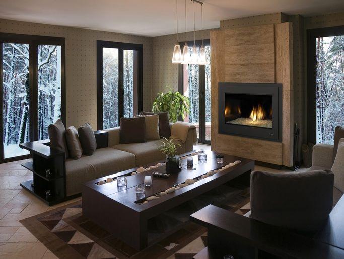 Heat  Glo Gas Fireplace chimeneas hogar Pinterest Hogar