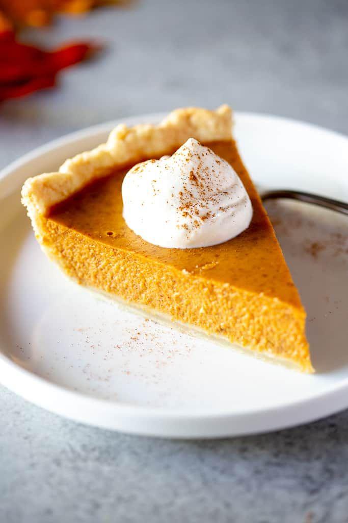 Absolutely Amazing Pumpkin Pie