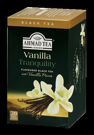 Ahmad Tea Our Teas Vanilla Tranquility Vanilla Tea Ahmad Tea Black Tea