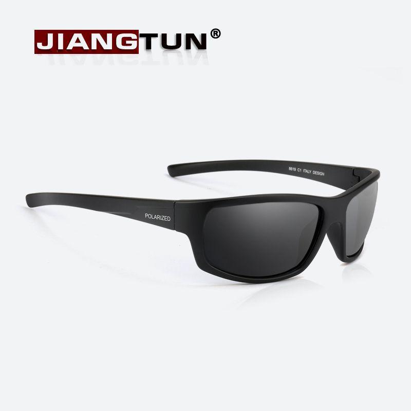 63a910d3729e8 Barato JIANGTUN Desporto Óculos Polarizados Homens Mulheres Marca Designer  Driving Pesca Polaroid Óculos de Sol Preto