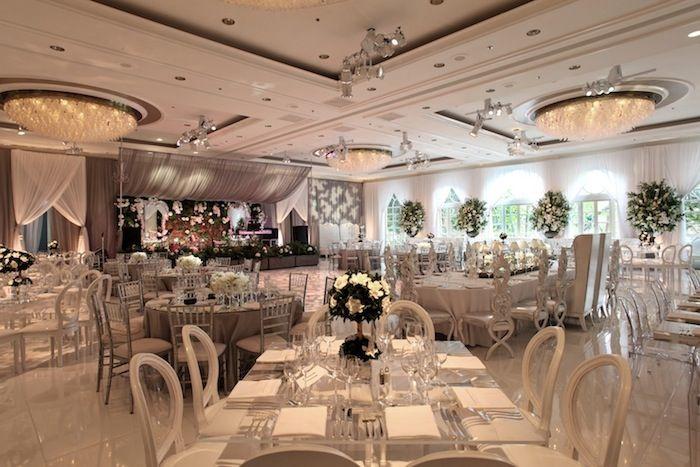 Elegant Blush And Cream Wedding Four Seasons Hotel Los Angeles International Event Company