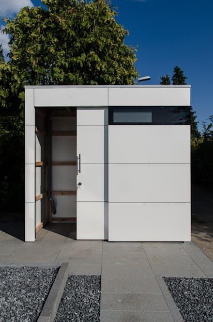 Carport von Architekt Armin Hägele Moderne garage