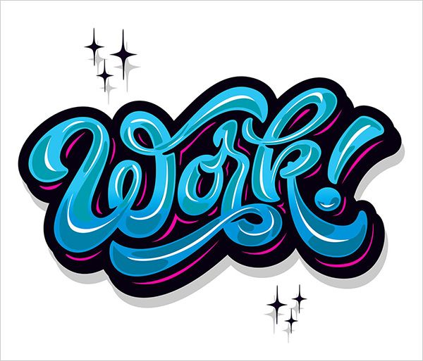 Logotype Lettering Typography
