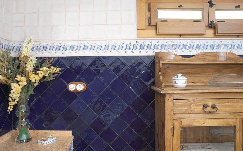 Azulejos Cerámicos Serie Alcora Aixart RT 102 Azul Estancias