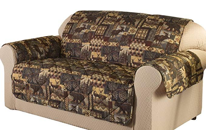 Magnificent Innovative Textile Solutions 849203004237 Lodge Loveseat Ncnpc Chair Design For Home Ncnpcorg