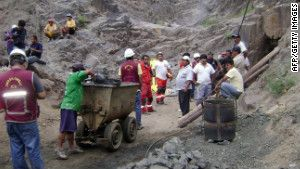 Fresh cave-in complicates effort to rescue trapped miners in Peru