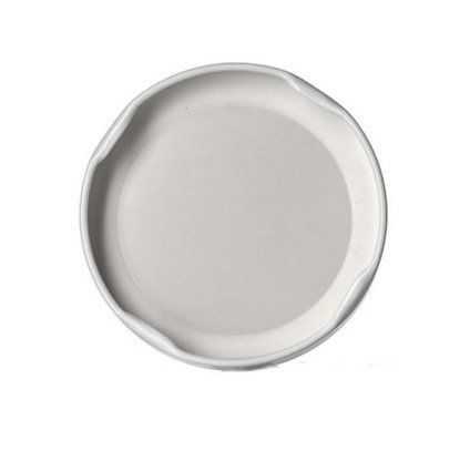 12 White Lug Plastisol Canning Lid for Wide Mouth 110mm