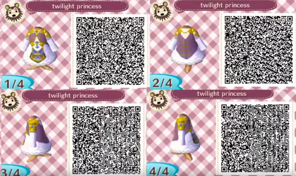 Animal Crossing New Horizons Qr Codes For Zelda Costumes Animal Crossing Animal Crossing Cats Animal Crossing Qr Codes Clothes