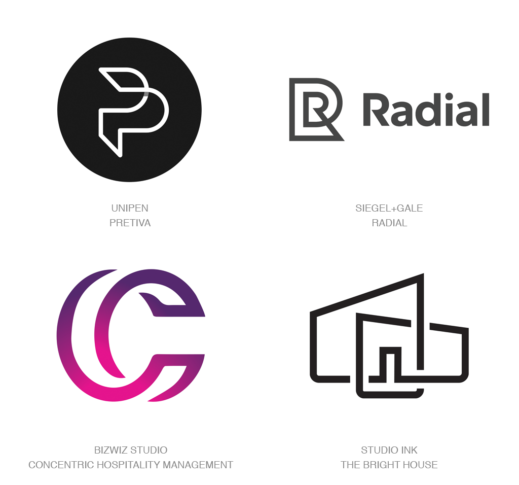 Logo Design Trends 2017 Doubles Логотип, Дизайн