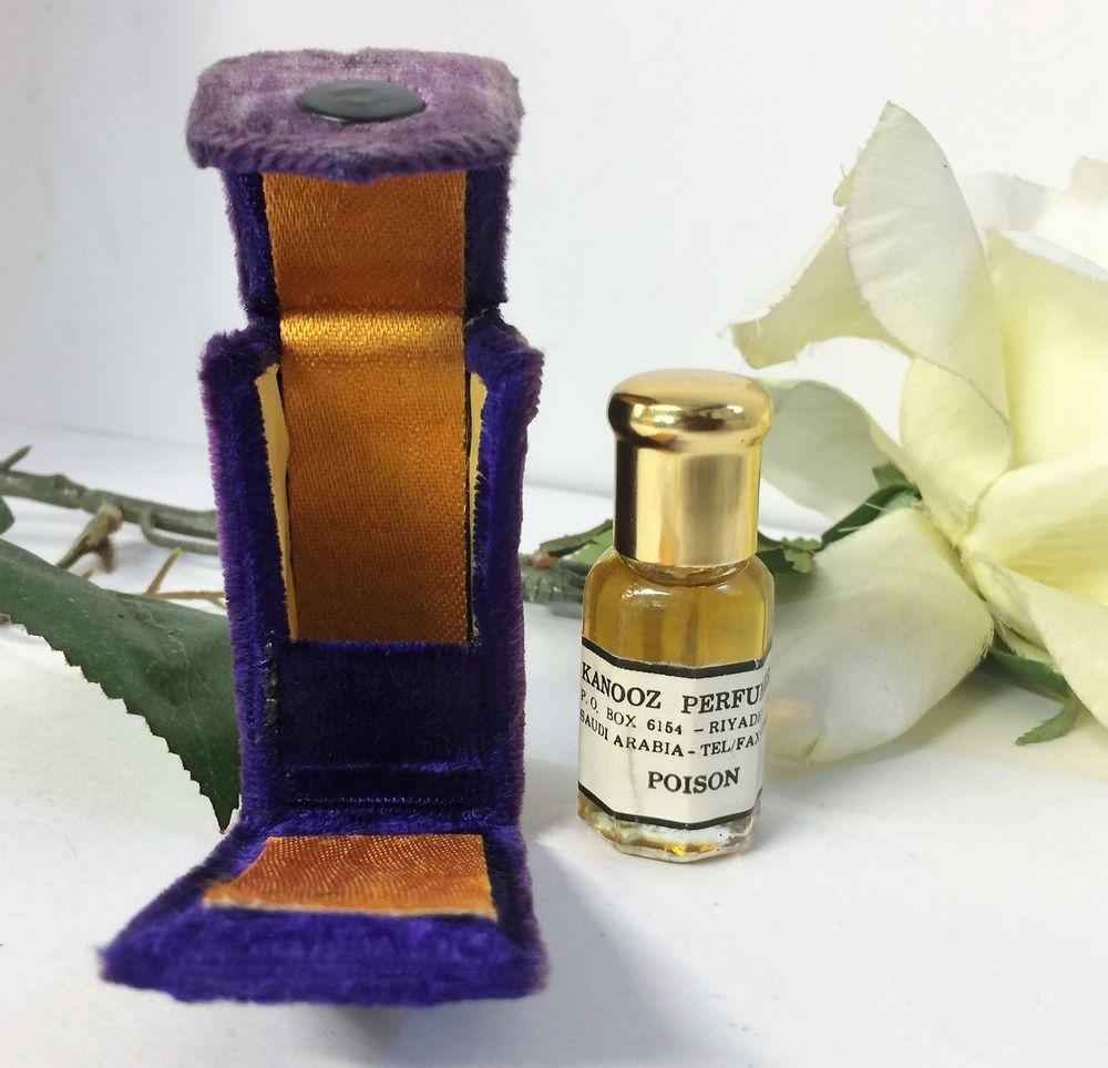 Vintage Kanooz Perfumery Riyadh Saudi Arabia Poison Perfume