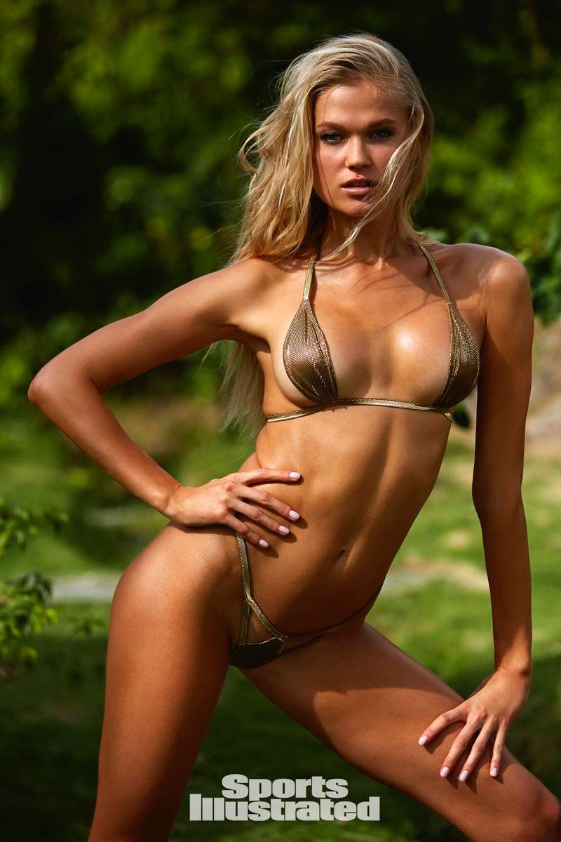 71240b014 Vita Sidorkina by (Ph.) Josie Clough in Nevis. Swimsuit by Dolcessa || Sports  Illustrated Swim 2018