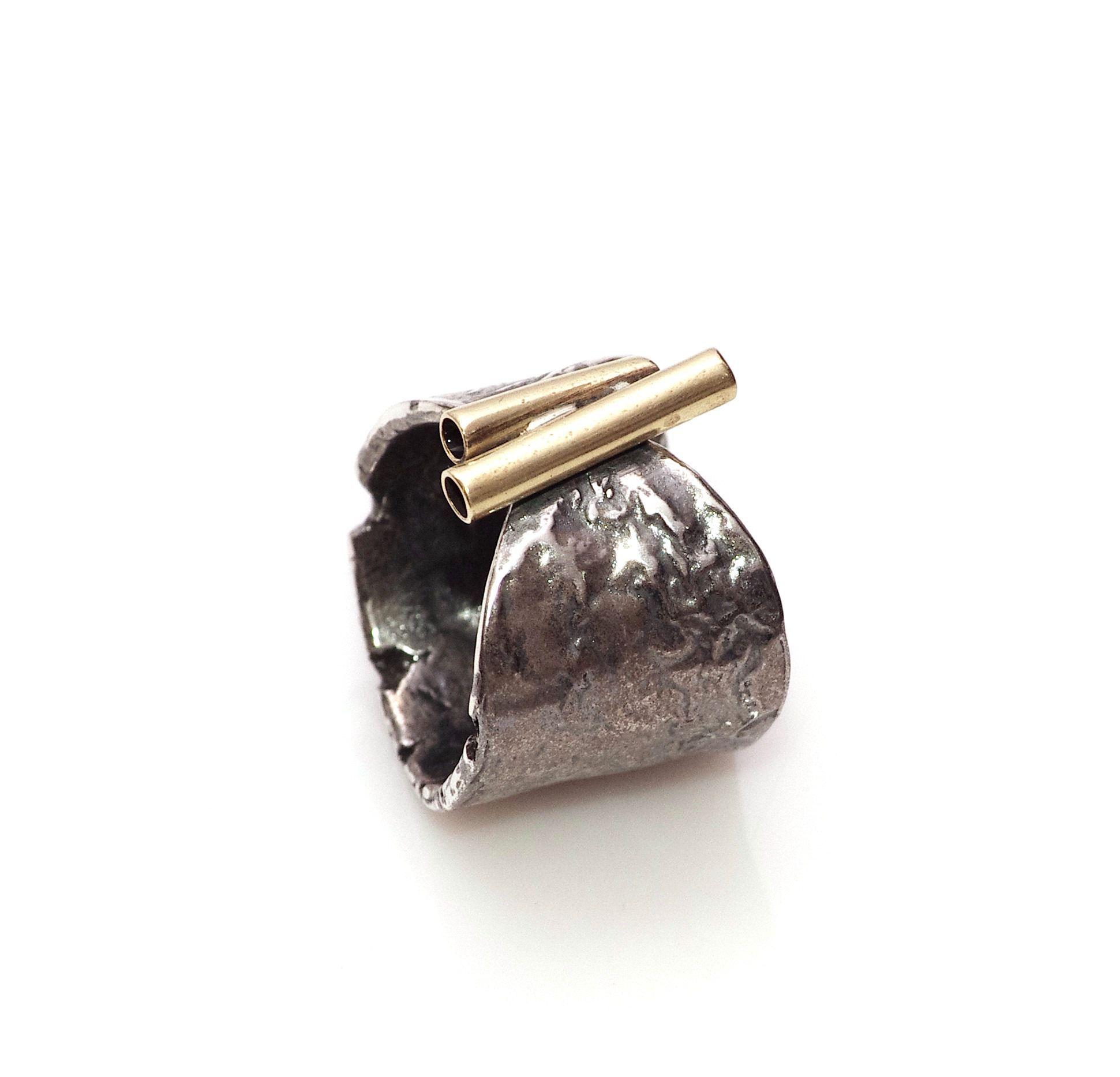 online aici pantofi de separare vânzare profesională inel lat din argint 925 oxidat si alama   Not another diamond ring ...