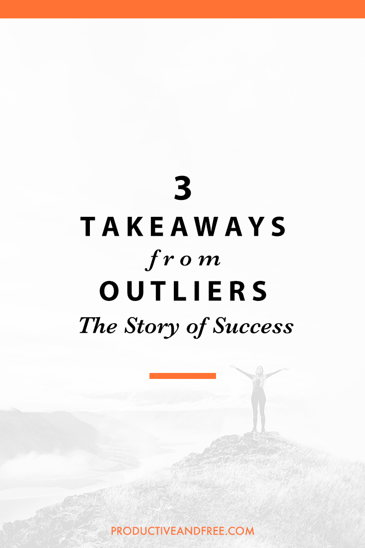 outliers the story of success by malcolm Outliers: the story of success by malcolm gladwell review by dr greg wiens bestselling author malcolm gladwell is never content to accept the status quo, unconvinced that things are what.