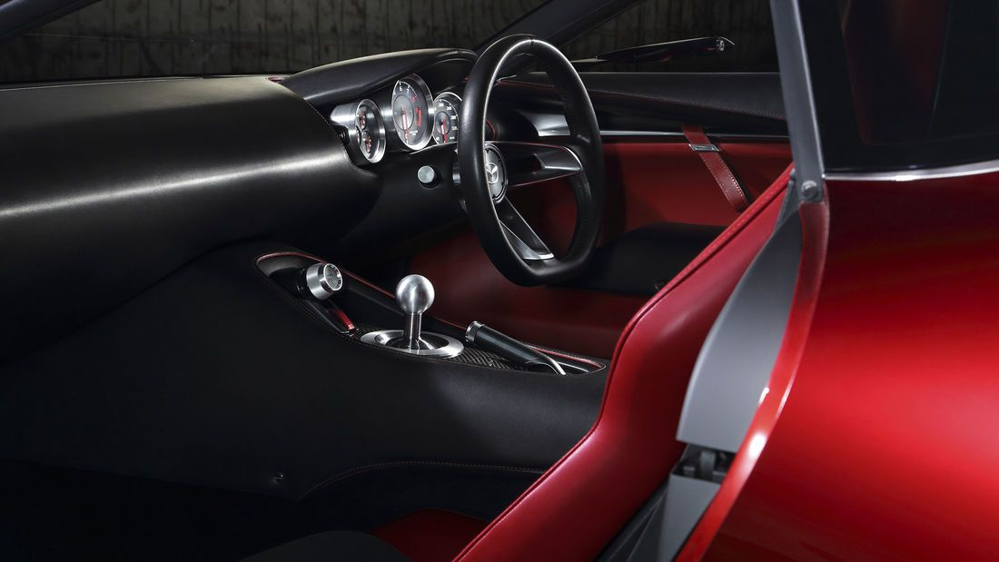 Mazda Rx Vision Gt3 Concept Virtuelle Wankel Rakete In 2020 Mazda Heckantrieb Toyota Corolla