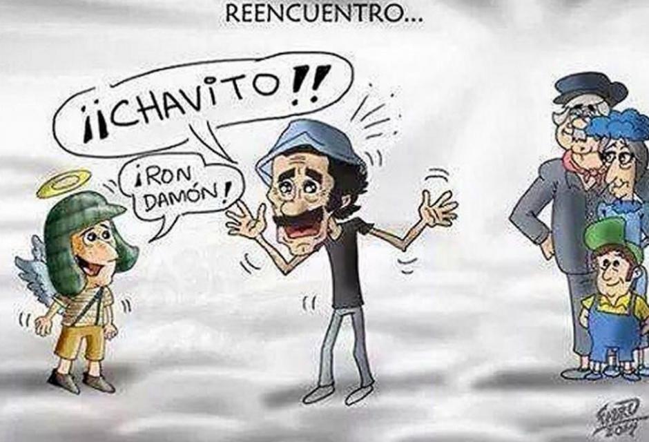 Los Memes Mas Emotivos Para Despedir A Chespirito Caricaturas Divertidas Personajes De El Chavo Caricaturas Mexicanas