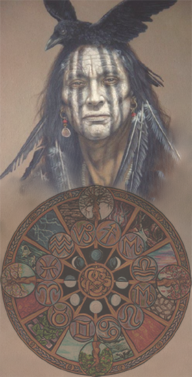 Medicine Wheel And Astrology It Could Be Said That Native American Traditions Vie Native American Astrology Native American Symbols Native American Traditions