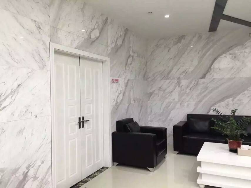 Volakas White Marble Interior Wall Tile In Office With Images
