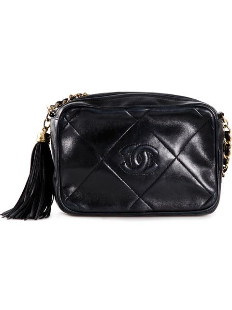 274d66fadd2 Shop Chanel Vintage quilted camera bag in Bella Bag from the world s best  independent boutiques at farfetch.com. Shop 300 boutiques at one address.