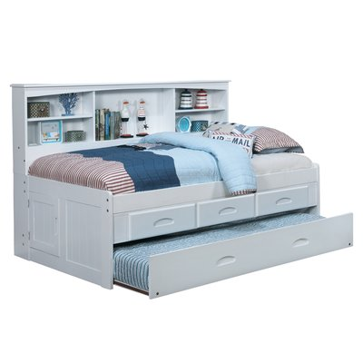 Greyleigh Norberto Mate S Captain S Bed With Trundle Drawers