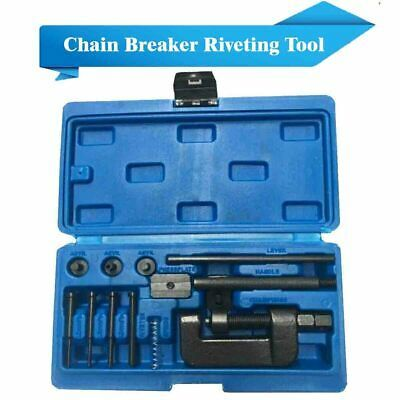 Motorcycle Chain Breaker Set Cutter Rivet Tool 520//525//530//630 Pitch ATV MTB US