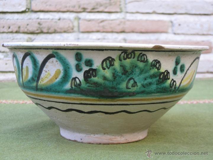 Cuenco Antiguo En Ceramica Vidriada De Puente Del Arzobispo Toledo Foto 1 Con Imagenes Ceramica Vidriada Cuencos Puentes