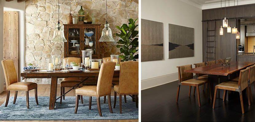 Sillas de cuero para decorar tu comedor | Nico tendencias en sillas ...