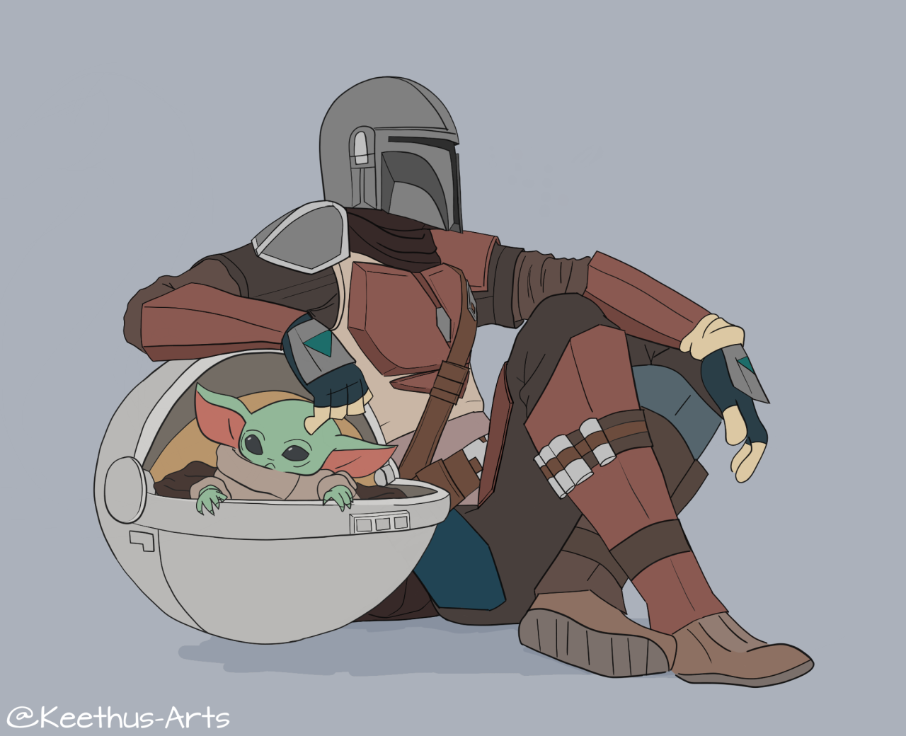 Art And More Someone Made A Neat Gif Of My Box Kid Star Wars Poster Star Wars Memes Star Wars Art