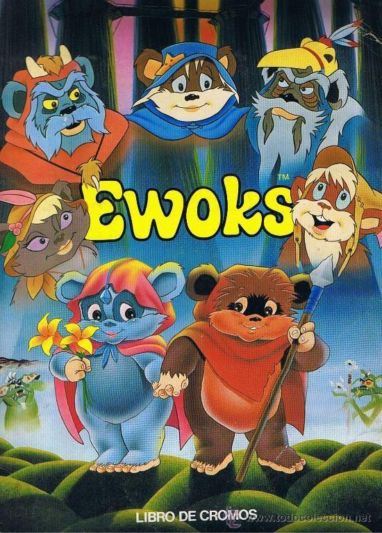 Album Cromos Ewoks Caricaturas Viejas Dibujos Animados De Los Anos 90 Personajes De Cartoon Network