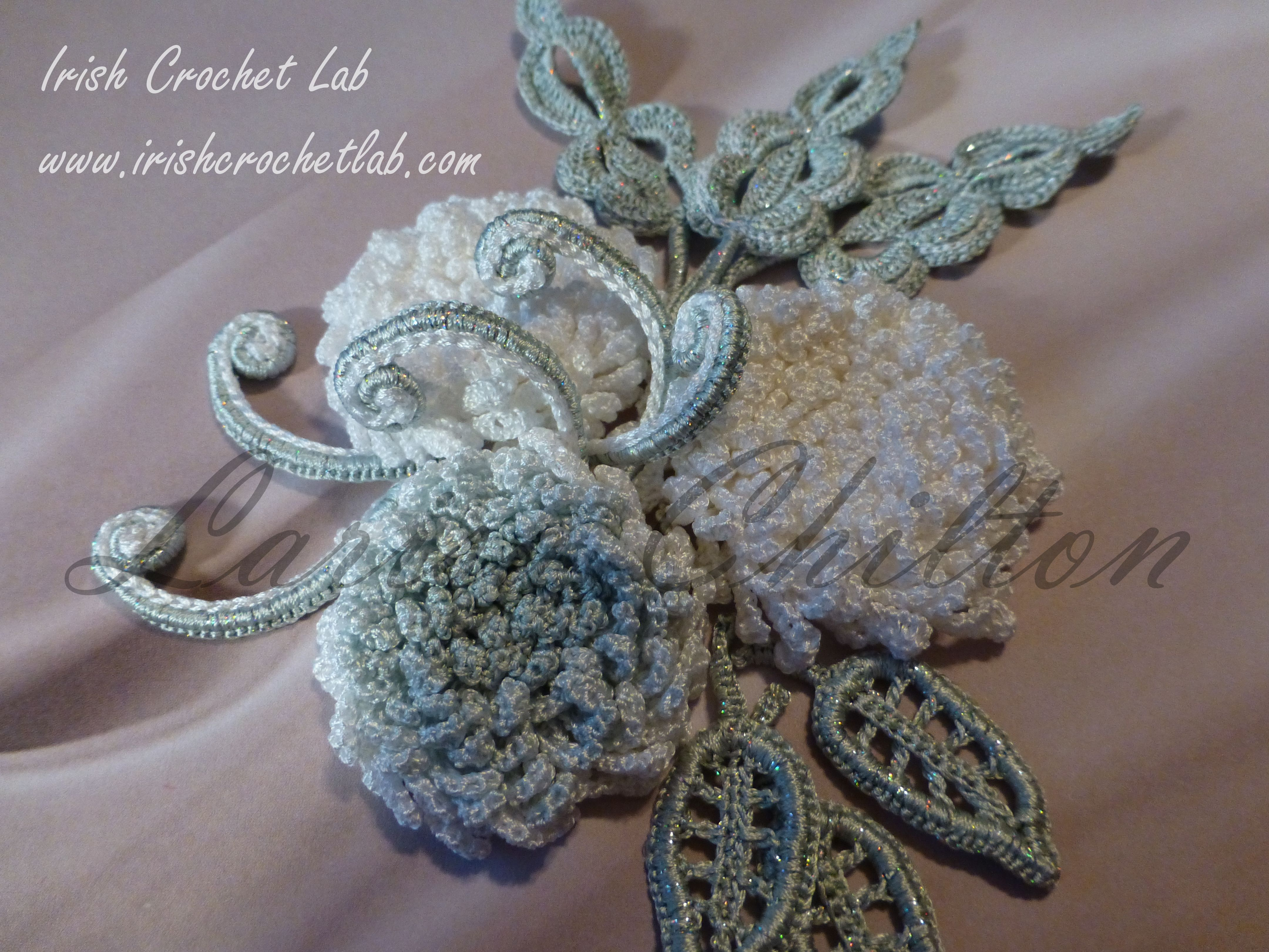 Chrysanthemum crocheted flowers pinterest chrysanthemums irish crochet lab is a detailed online course of how to make irish crochet lace it includes detailed written instructions patterns and video tutorials bankloansurffo Gallery
