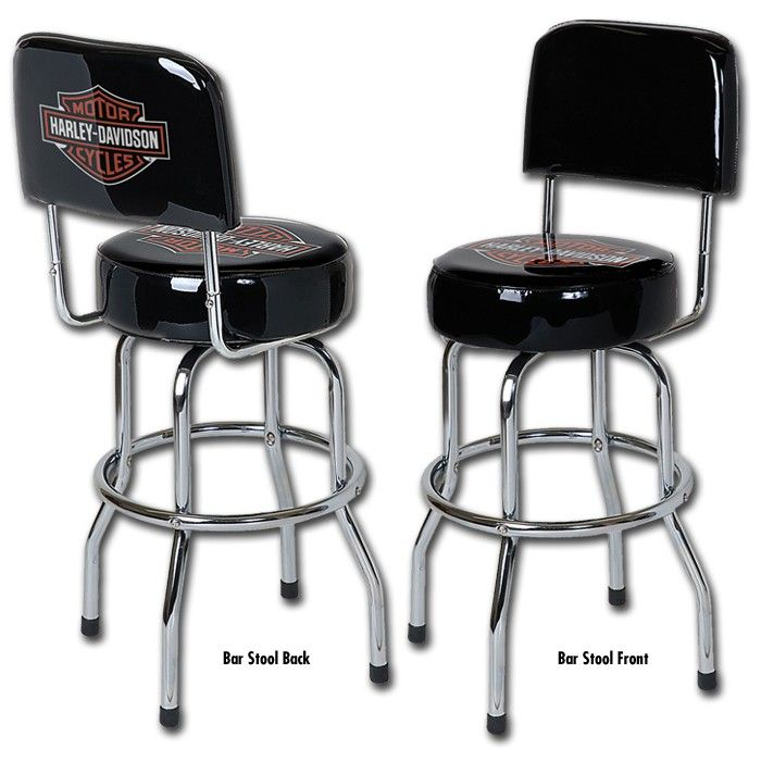 Peachy Harley Davidson Low Rider Bar Shield Bar Stool W Squirreltailoven Fun Painted Chair Ideas Images Squirreltailovenorg