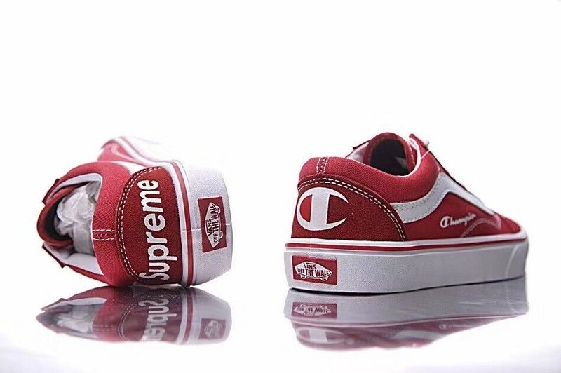 80bbbed0f5b5c Champion + supreme Champion x supreme x Vans Old Skool Old Julian series  canvas shoes