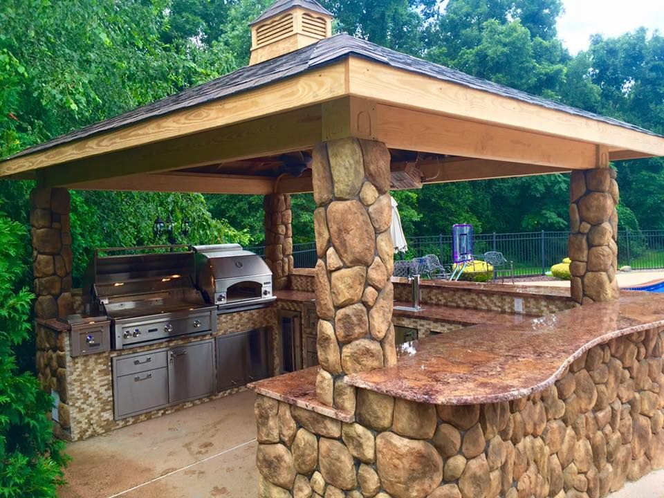 Another Satisfied Customer Masterstone Can Build Your Dream Outdoor Kitchen Call Us Today Diy Outdoor Kitchen Outdoor Kitchen Plans Outdoor Kitchen