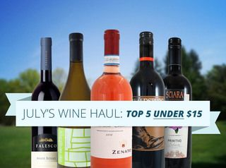We asked Giovanni, one of our wine specialists, to pick out the best five bottles she's tried this month. The only caveat: they had to be under $15! Here's what she came up with.