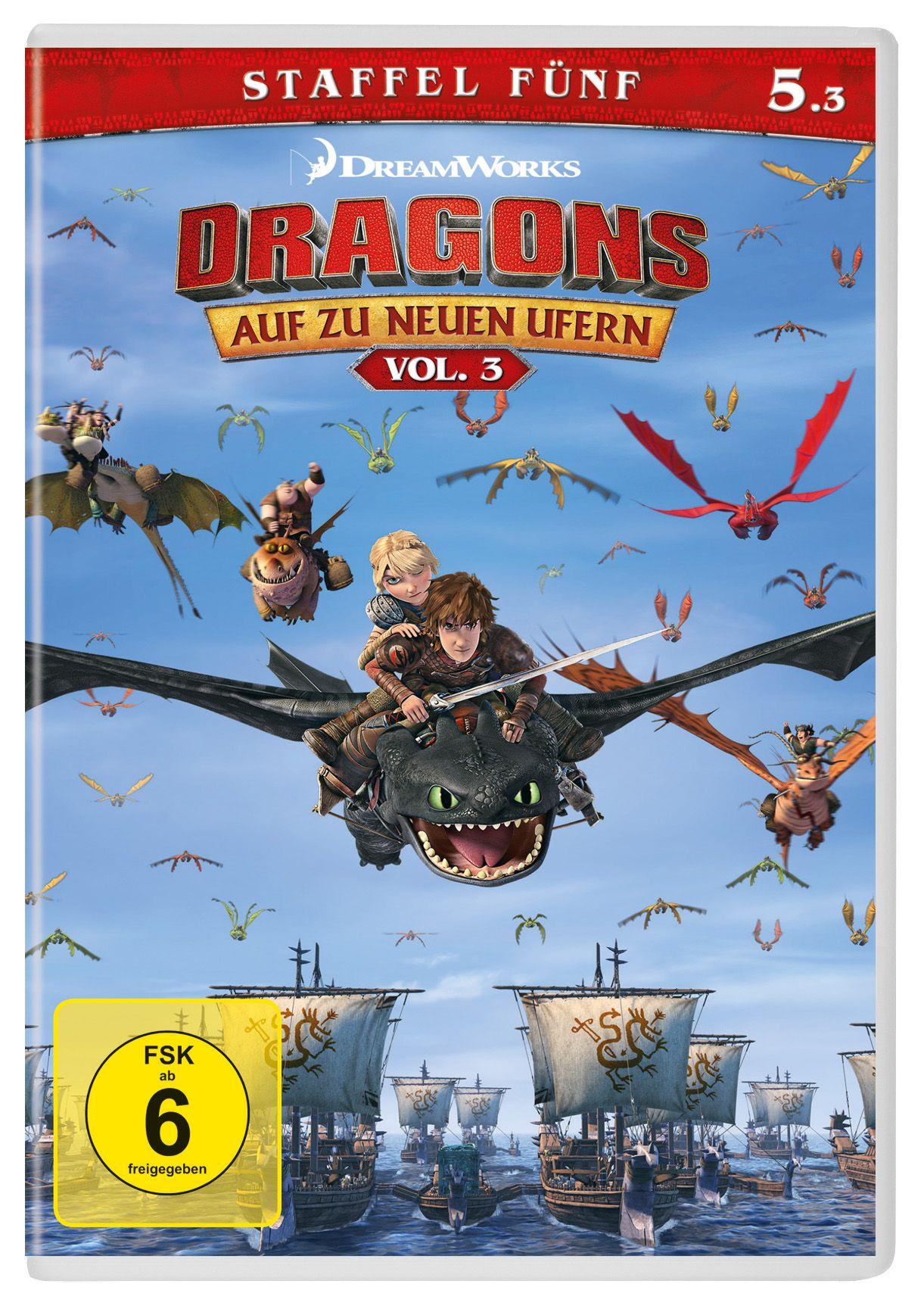 Ohnezahn Und Hicks In Dragons Auf Zu Neuen Ufern Staffel 5 Vol 3 Dreamworks Dragons Dreamworks Animationsfilme