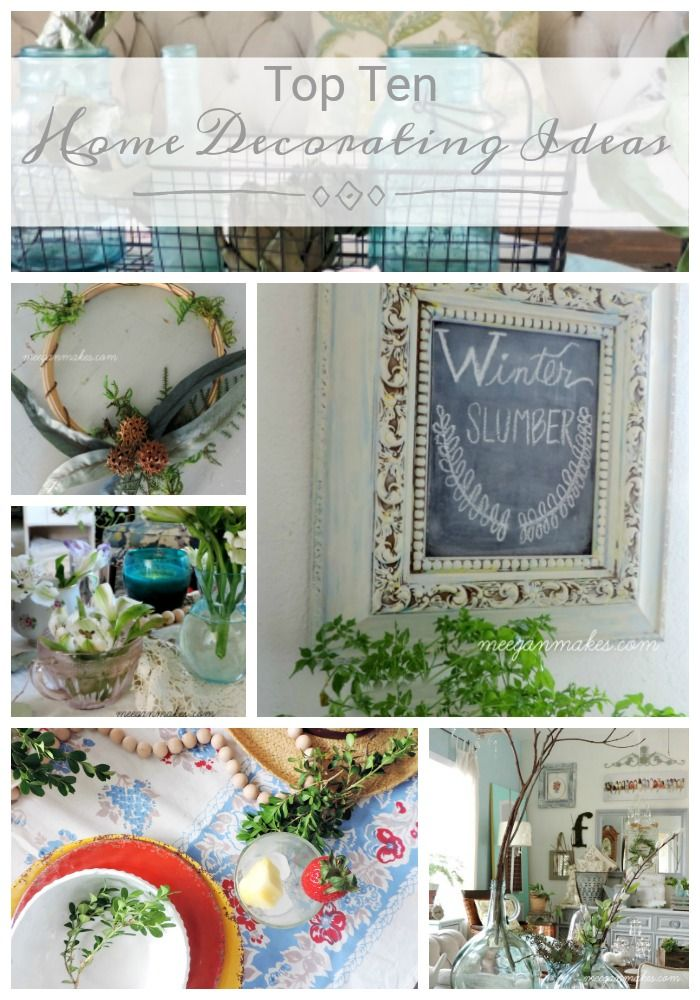 Top ten home decorating ideas also get pin spired with crafty bloggers rh pinterest