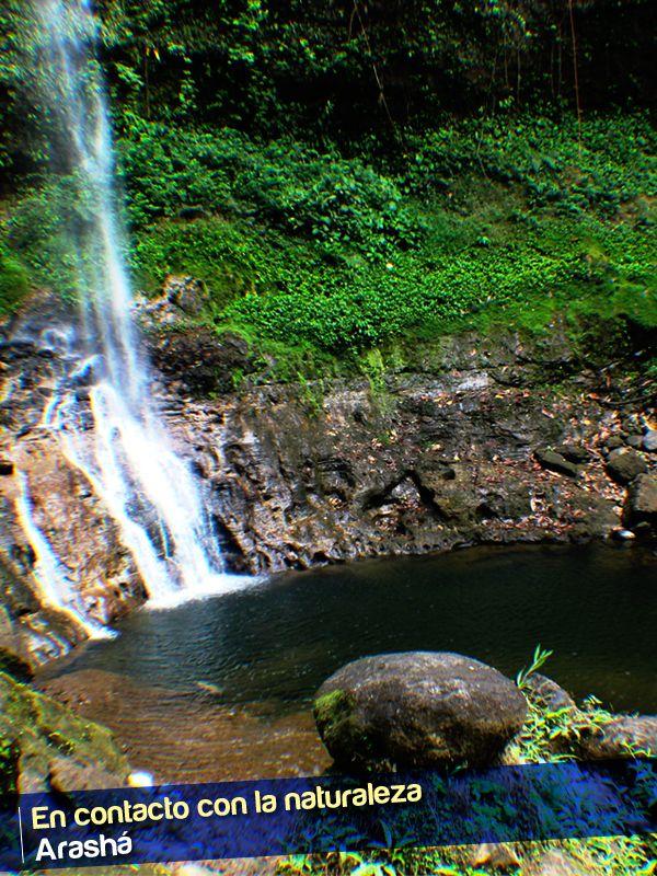 Disfruta de la hermosa vista y siente cómo la caída del agua te llena de nuevas energías y el estrés desaparece.