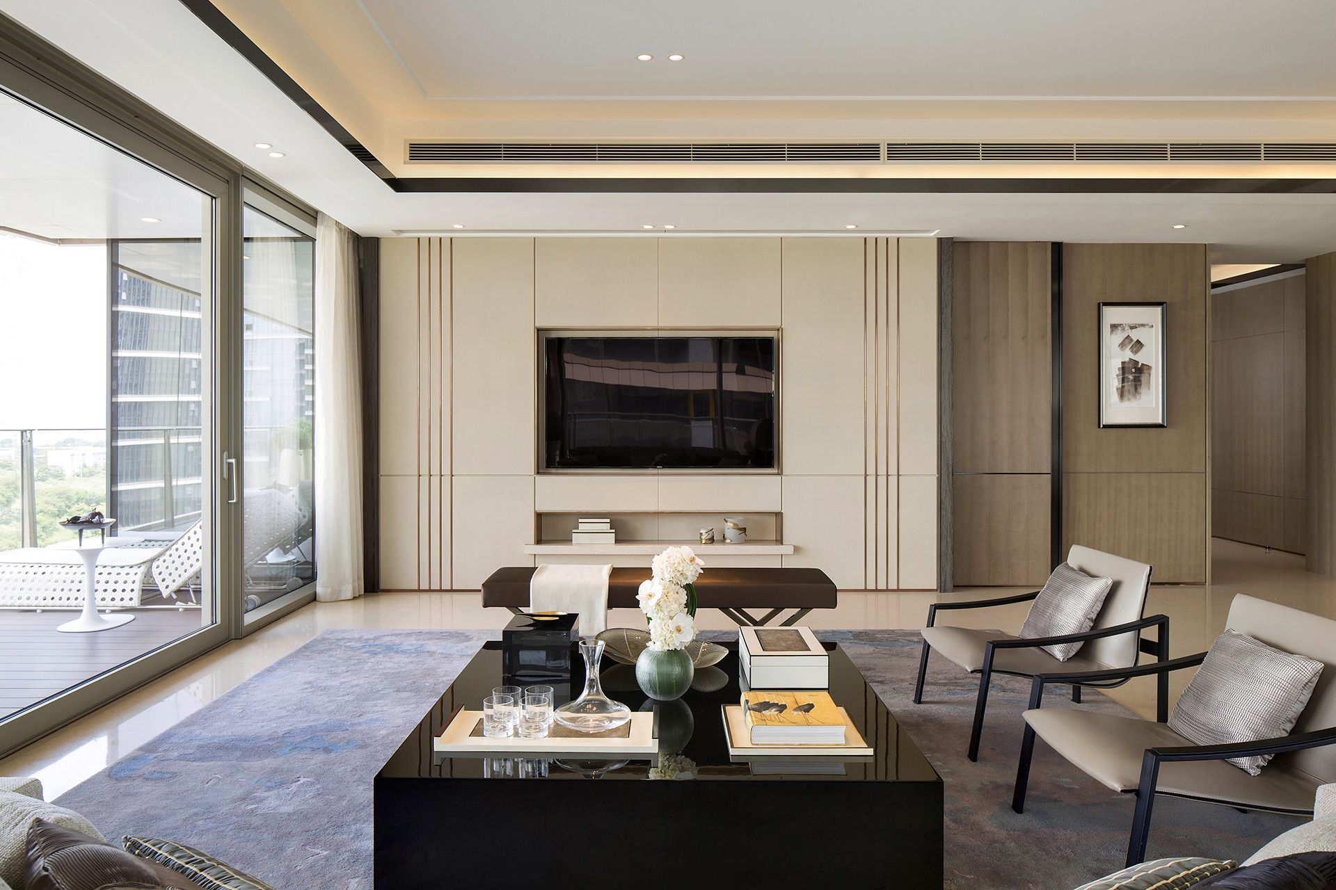 Pin By Yang Rongyang On House Guest Room Suite Pinterest  # Meuble Tv Plasma Design Divano