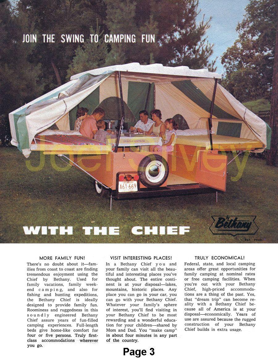 Pop Up Camper History Pop Up Camper Pop Up Tent Trailer Motor